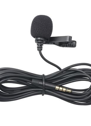 Микрофон петличка проводная We-Media M-01, петличный микрофон ...