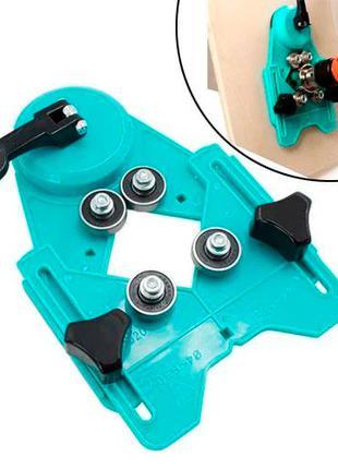 Кондуктор шаблон для сверления алмазными коронками 4-83 мм поз...