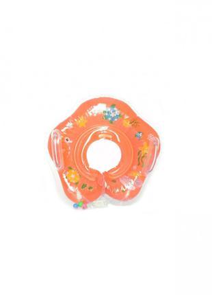 Детский круг для купания MS 0128 (Оранжевый)