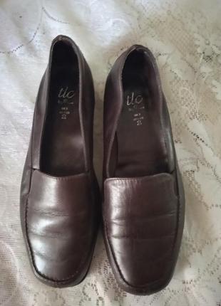 Туфли кожа стелька 23 см 35-36 размер