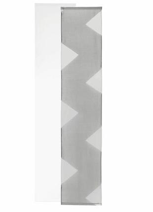 Декоративная панельная штора тюль гардина 2 шт. meradiso германия