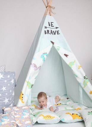 вигвам детский игровой шатер