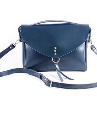 Женская кожаная сумка бренда Sollorini