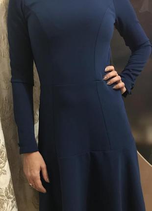 Чёрная пятница!красивое классическое платье в деловом стиле orsay
