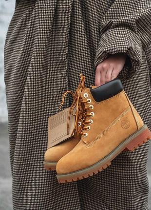 Шикарные женские зимние ботинки timberland ginger fur 😍 (на меху)