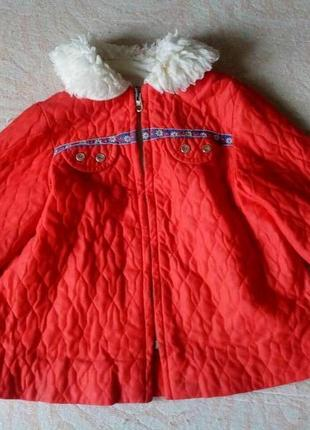 Пальто деми для малышей