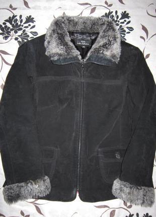 Куртка из натуральной замши от английского бренда wallace sacks
