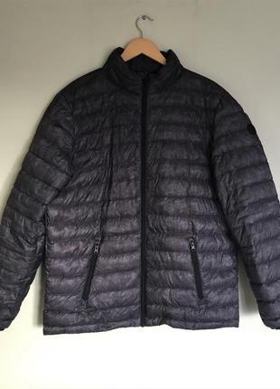 Куртка мужская ультралёгкая на пуху, xl  ультралегкий пуховик ...