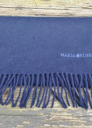 Шарф винтаж marja kurki шерстяной зима дизайнерский премиум