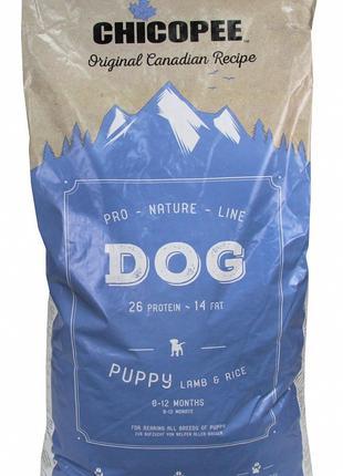Chicopee PNL PUPPY LAMB&RICE сухой корм для щенков ЯГНЕНОК И РИС