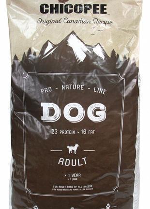 Chicopee PNL ADULT сухой корм для взрослых собак ПТИЦА