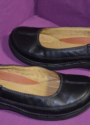 Кожаные туфли clarks , оригинал, 4d размер