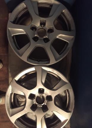 Диски Оригинал Audi R16+резина 225/55 в подарок