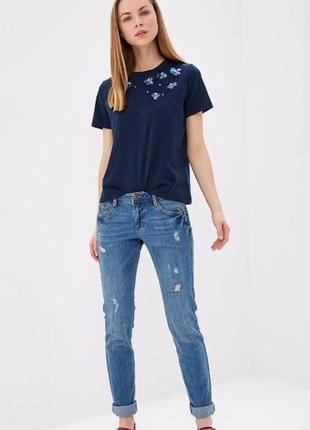 Стильные джинсы штаны рванные  дорогого бренда s.oliver