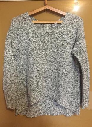 Легкий вязанный свитер кофта свитшот пуловер летний вариант ve...