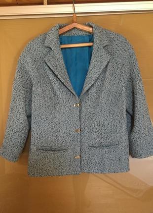 Стильное пальто блейзер пиджак жакет  укороченый свободного кр...