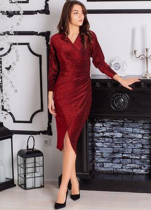 Шикарное новогоднее платье
