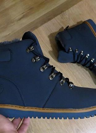Ботинки мужские зимние тимберленд,реплика