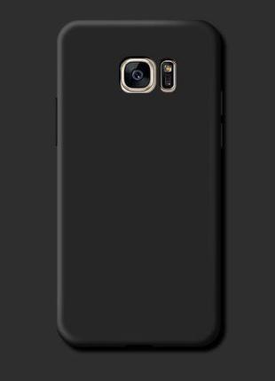 Силиконовый чехол Liquid Silicone Case Samsung Galaxy S7 Edge
