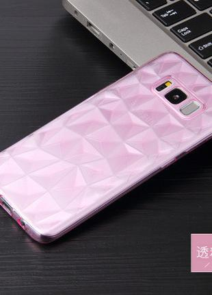 Силиконовый чехол Rhombus Diamond Case для Samsung Galaxy S7 Edge