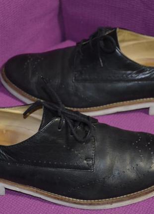Кожаные туфли броги paul green 42 р., 27.7 см