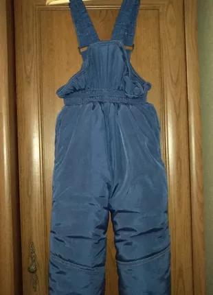Зимний детский комбинезон (зимние штаны)