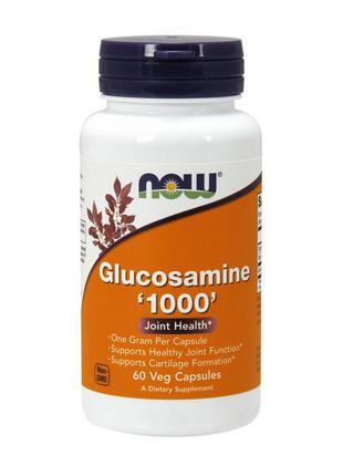 Глюкозамин NOW Glucosamine 1000 (60 caps)