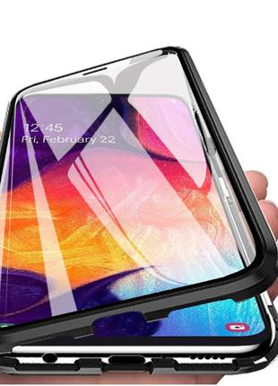Magnetic case Full Glass 360 (магнитный чехол) для Xiaomi Mi A...