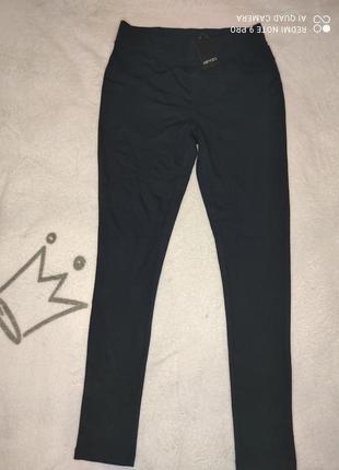 Женские черные брюки леггинсы esmara