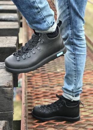 Зимние мужские ботинки 💥native fitzsimmons термо