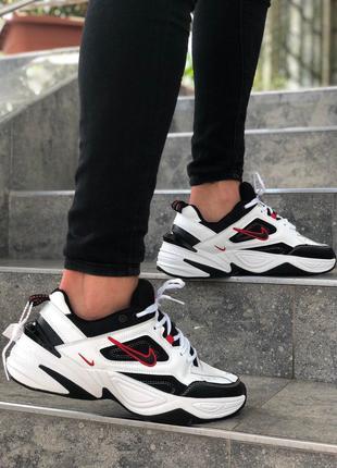 Мужские черно-белые кроссовки Nike MK