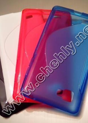 Силиконовый чехол для LG Optimus 4X HD P880 (бампер на LG Opti...