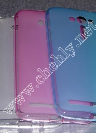 Силиконовый чехол для Asus ZenFone 2 Laser ZE550KL (бампер на ...