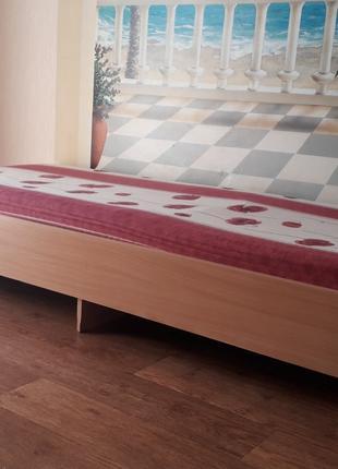 Кровать односпальная с матрасом 2.00/90