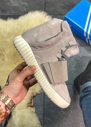 Мужские кроссовки Adidas Yeezy Boost 750 Grey, кроссовки адида...