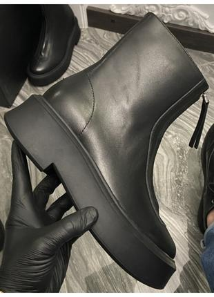 Женские ботинки The Row Zipped Boot I, женские ботинки зе роу ...