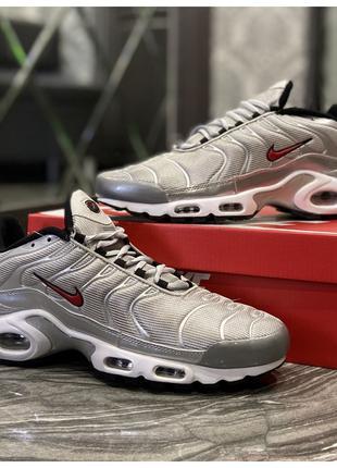 Мужские кроссовки Nike Air Max TN Plus Silver, мужские кроссов...