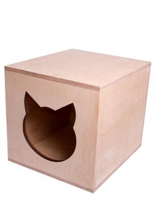 Домик для кошки, котодомик из фанеры, Харьков, доставка