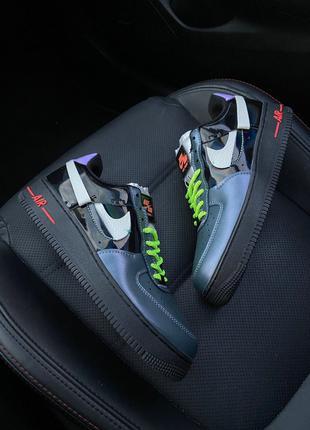 Женские кроссовки Nike Air Force 1 Vandalized Iridescent Green...
