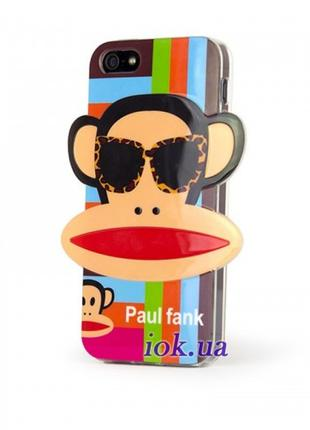 Детский чехол Оригинальный чехол для iPhone 5 / 5s Monkey Paul...