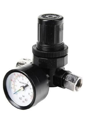 """Регулятор давления воздуха с манометром для краскопульта 1/4"""" ..."""