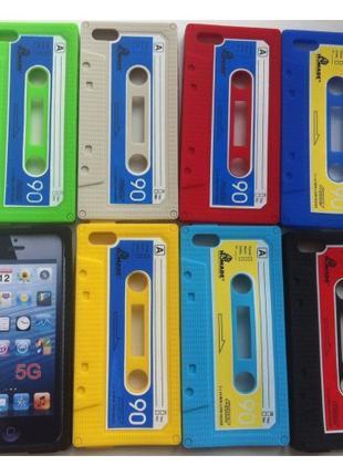 Чехол 3D Оригинальный чехол для iPhone 5 / 5s Cassette Violet ...