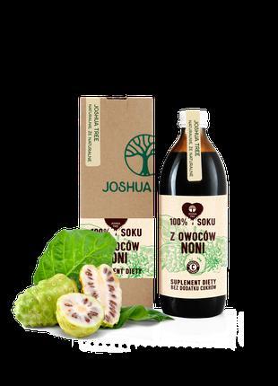 Сок нони, натуральный без сахара 500 мл, Joshua