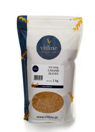 Семена льна золотого, лен золотистый семена 1 кг, Vitline