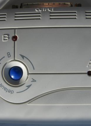 Хаб -розгалужувач  2 ПК-1 принтер по LPT-кабелю