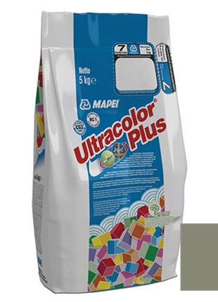 Затирка Mapei Ultracolor Plus 113 серая 5 кг