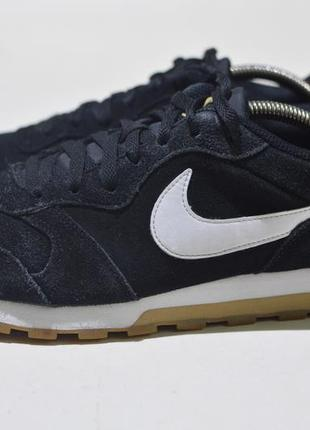 Кроссовки nike md runner 2 suede aq9211-001 leather casual