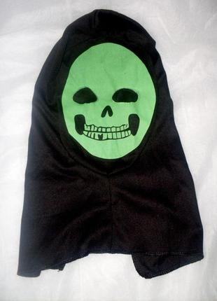 Маскарадный головной убор с маской на хэллоуин