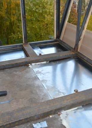 Балкон с выносом под ключ