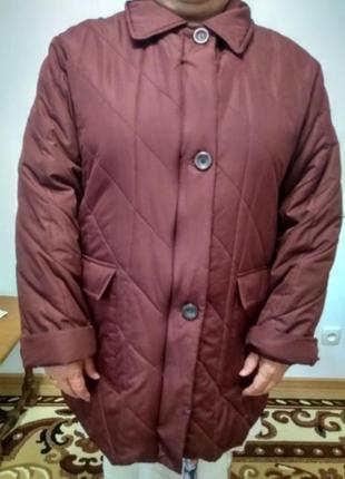Курточка демисезонная тёплая  женская италия
